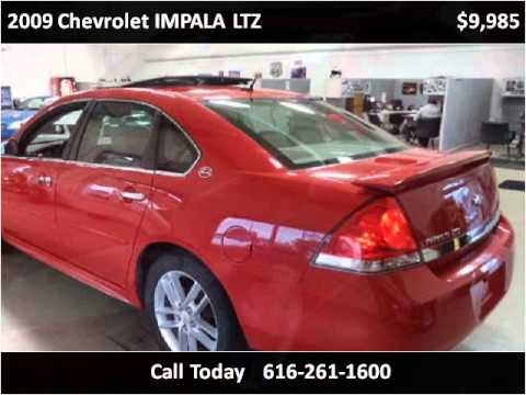 2009 chevrolet impala ltz used cars grand rapids mi youtube for Motor max grand rapids