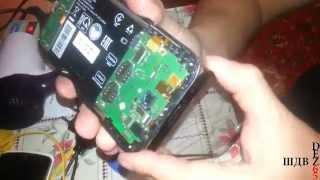 lenovo A850  Замена сенсора