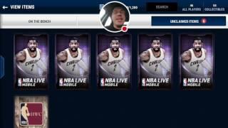 NBA LIVE MOBILE | Crossover Bundle Pack Opening & Elite pull!!?