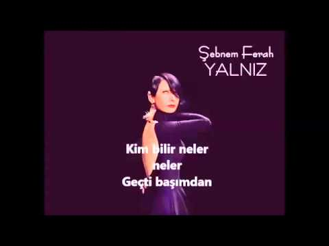 Şebnem Ferah-Yalnız Lyrics
