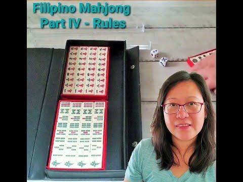 Part IV - Filipino Mahjong Game Rules 🎲🀄 How to play Mahjong. |