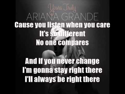 Ariana Grande (ft Big Sean) - Right There (LYRICS) - YouTube