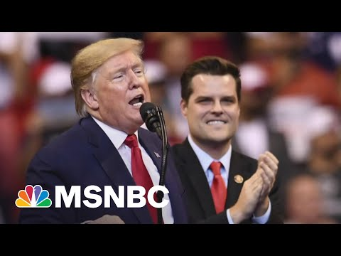 GOP's Gaetz In Free Fall: Sought Trump Pardon Before Bombshell Sex Probe Exposed