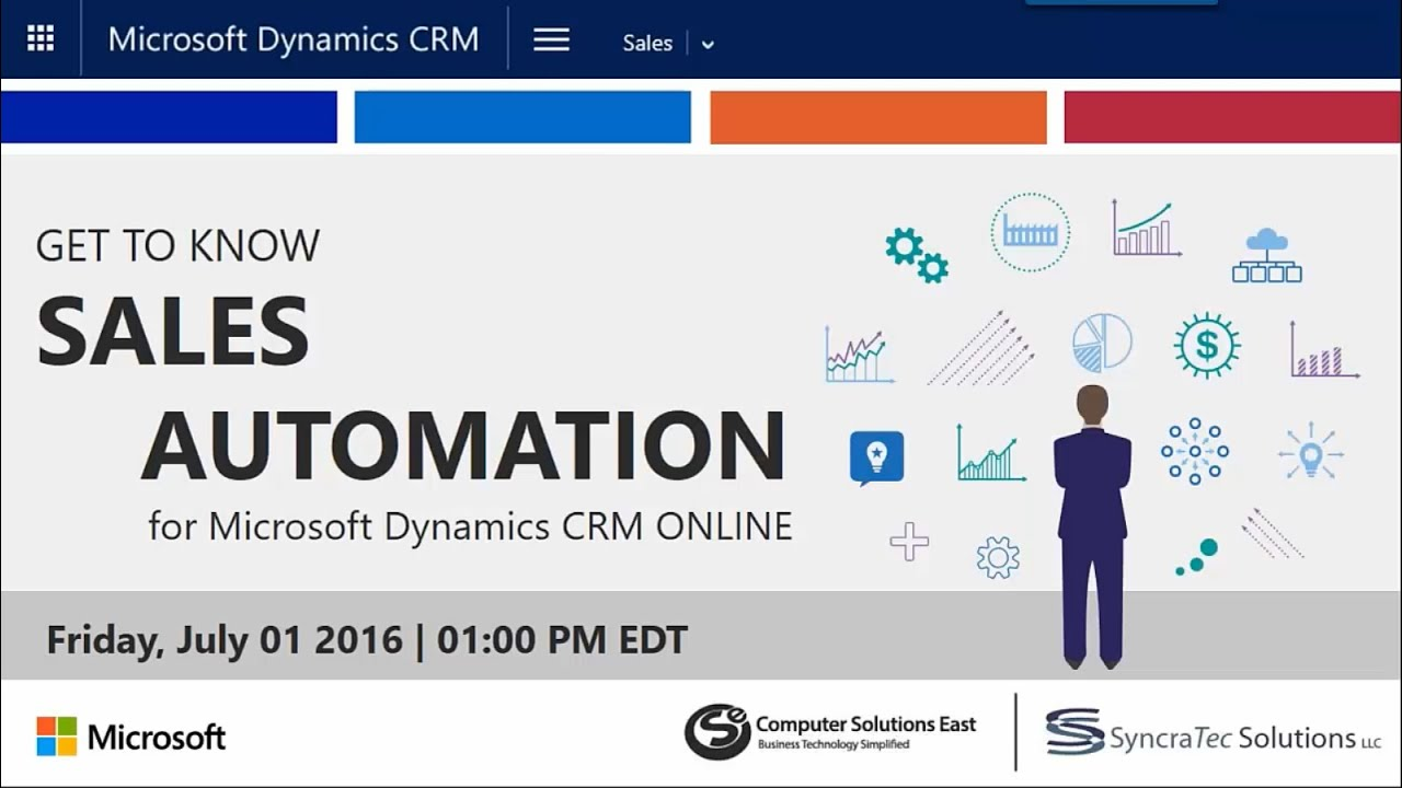 Get to Know Sales Automation With Microsoft Dynamics CRM