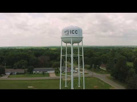 Bird's eye view of Independence Community College