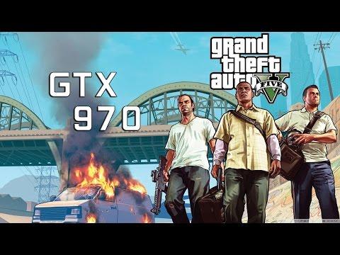 Grand Theft Auto V | Asus Strix GTX 970 DirectCU II 4GB + i5-4670 | 1080p Ultra Settings |