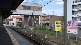 《目の前で電笛!》名鉄2011F 大江駅通過