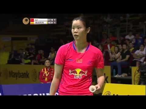 Li Xuerui vs Carolina Marin | WS F Match 4 - Maybank Malaysi