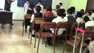 Интегрированный урок школа   № 3 г  Батуми  Тематика басен Эзопа, Орбелиани, Крылова  2 я часть