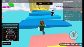 Playing ROBLOX Angry birds obbyw/Gabe grullon vlogs