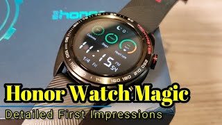 Honor Watch Magic - Detailed First Impressions & Comparisons