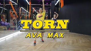 Ava Max - Torn | Dance Fitness By Golfy | Give Me Five Thailand | เต้นออกกำลังกายท่าง่ายๆ