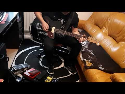 U2 The Blackout (guitar cover)