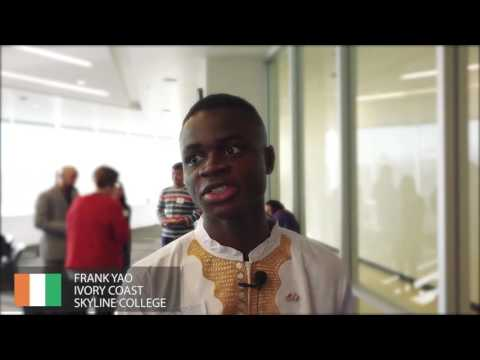 Student Profile  Frank Yao from Ivory Coast