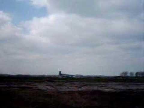 Letzte Landung der Breguet Atlantic 61 12 in Altenburg