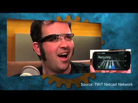 Best reaction to Google Glass: Ron Richards from All About Android (TWiT)