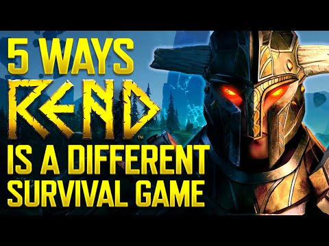 5 Ways Rend Is Different From Your Typical Survival Games