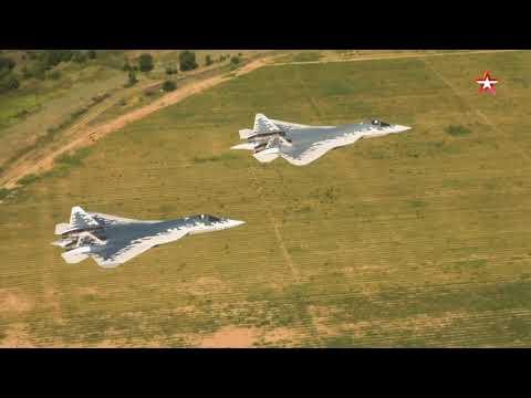 Проход Су-57 на