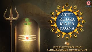 23 Nov 2020 || Athi Rudra Maha Yagna Live From Muddenahalli || Day 11, Morning
