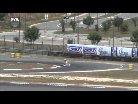CIK FIA EUROPEAN CHAMPIONSHIP KF FINAL ROUND1
