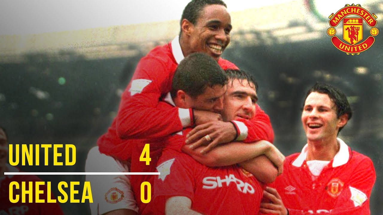 Download Manchester United 4-0 Chelsea | United Win the Double! | FA Cup Final 1994 #EmiratesFACup | Classics