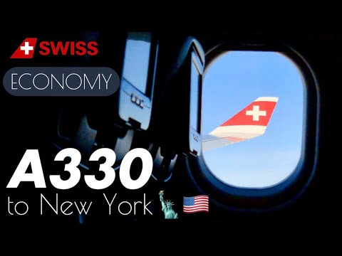 Swiss | Zurich to New York | LX 16 | Flight Experience ✈