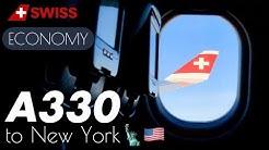 SWISS A330 🇨🇭 Zurich - New York • Flight Experience ✈