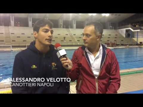 Canottieri Napoli, intervista ad Alessandro Velotto