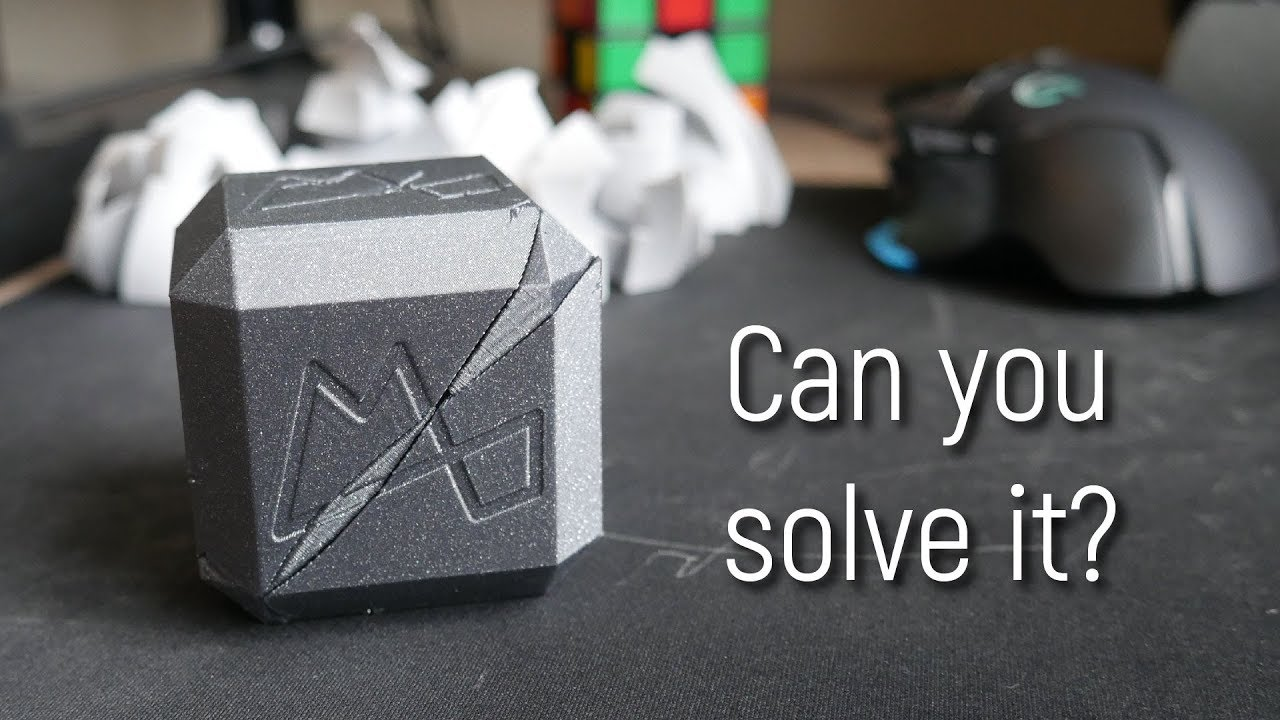 Challenging Printed Puzzle Cube