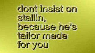Tailor Made - Colbie Caillat (lyrics)