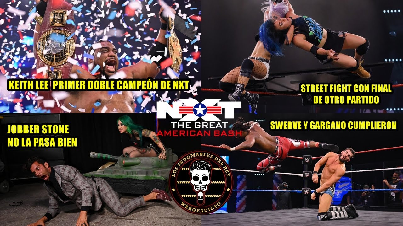 NXT Great American Bash 2020 (Noche 2) - Análisis Picante