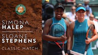 Simona Halep vs Sloane Stephens - 2018 | Roland-Garros Classics
