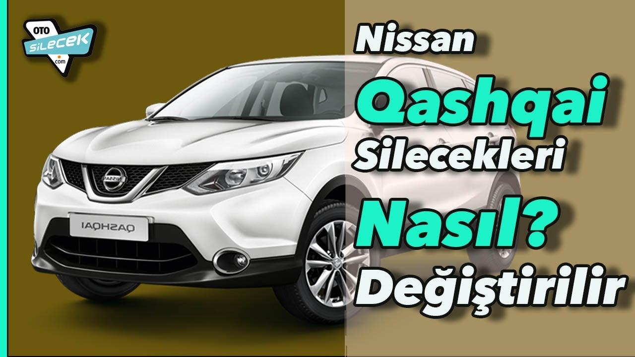 Qashqai On Ve Arka Silecek Degisimi Nasil Yapilir How To Replace Qashqai Wiper Blades J11 2014 Youtube