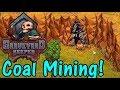 Let's Play Graveyard Keeper Alpha #10: Coal Mining!