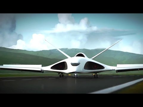 Russia's Pak Ta Supersonic Heavy Transportation Aircraft Simulation [720p]