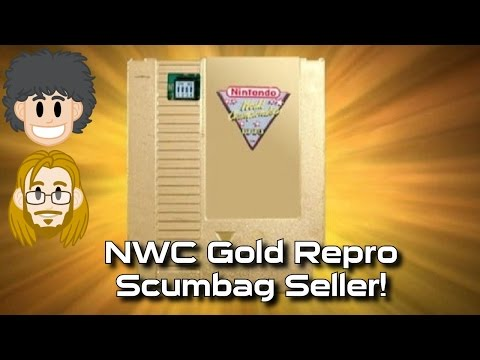 Nintendo World Championships Gold NES Cart FAKE! #CUPodcast