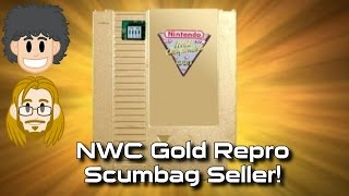 Nintendo World Championships Gold NES Cart FAKE! #CUPodcast