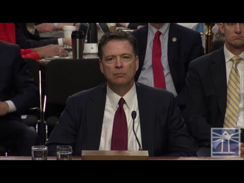 FULL TESTIMONY: Former FBI Director James Comey testifies before Senate Intelligence Committee