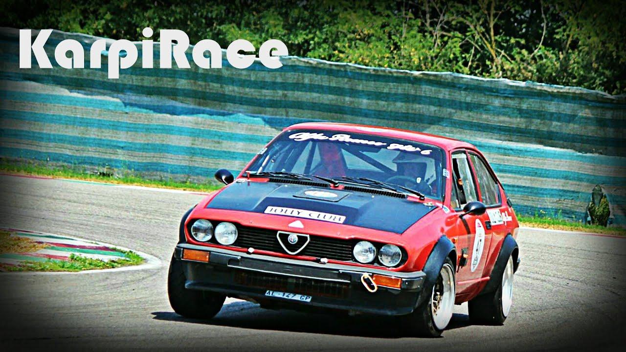 Car Racing Flag Wallpaper Alfa Romeo Alfetta Gtv Race Car Youtube