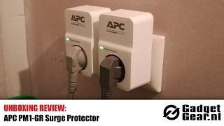 Unboxing Review: APC PM1W-GR Surge Protector