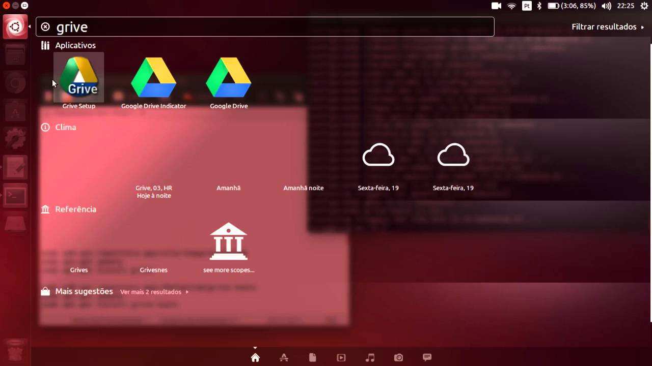 Tutorial - Alternativa para o Google Drive no Ubuntu 14 04