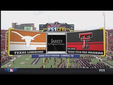 NCAAF 2016 / Week 10 / 05.11.2016 / Texas Longhorns @ Texas Tech Red Raiders / 720pier