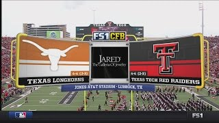 NCAAF 2016 / Week 10 / 05.11.2016 / Texas Longhorns @ Texas Tech Red Raiders / 720pier