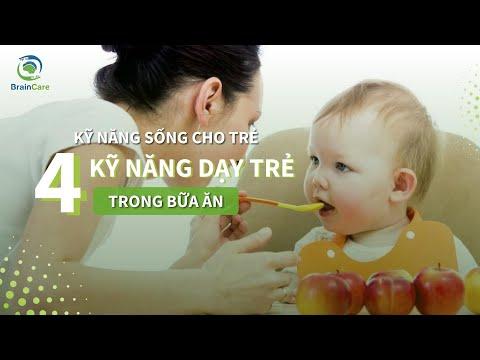 4 Kĩ Năng Cần Dạy Trẻ Trong Bữa Ăn Thường Ngày -  Kĩ Năng Sống Cho Trẻ