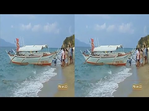 3D SBS - Banca to Puerto Galera & White Beach, Philippines (50%, 16:9)