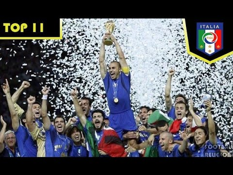 TOP 11 ITALY ● Best Italian Team Ever [HD]