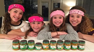 The Baby Food Challenge (Haschak Sisters)(Hi Guys! After reading your comments and watching some of our friends' online, we decided to try out the #BabyFoodChallenge!! Let's just say it was REALLY ..., 2016-01-07T18:03:35.000Z)