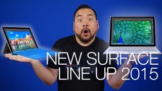 Microsoft Surface Book, Surface Pro 4, Lumia 950 & More!