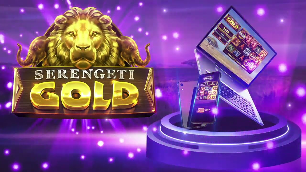 Serengeti Gold  Slot Play Free ▷ RTP 96.1% & High Volatility video preview