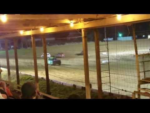 Charleston Speedway Street Stock Feature- 4-8-17